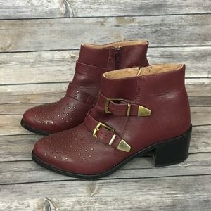 Topshop Alvin Studded Western Boots